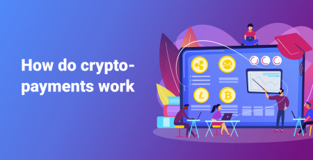 How do crypto payments work (customer's and merchant's views)